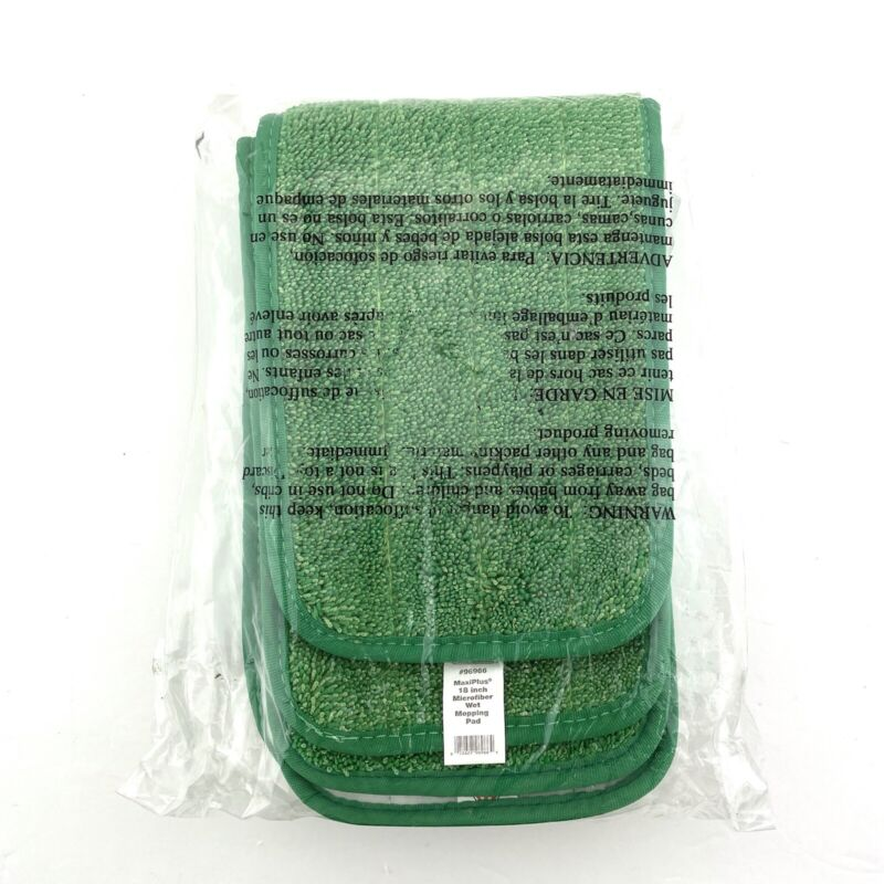 """O-Cedar Commercial Microfiber Wet Mopping Pads MaxiPlus 18"""""""