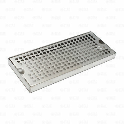 12 X 5 Stainless Steel Beer Kegerator Surface Tower Drip Tray Removable Grate