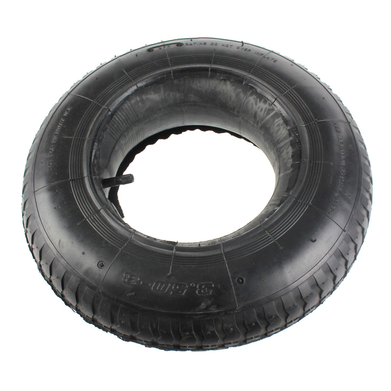 "NEW 2 X WHEELBARROW WHEEL INNER TUBE AND BARROW TYRE RUBBER INNERTUBE 8/"""