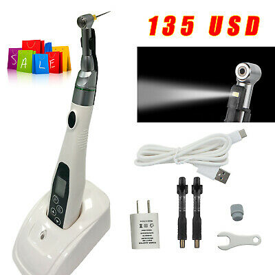 Cordless Mini Led Dental Endo Motor Root Canal Treatment 161 Handpiece Cicada