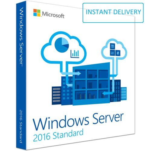 Microsoft Windows Server 2016 Standard Key Code 64Bit Genuine Activation License