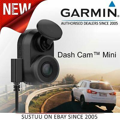 Garmin Dash Cam Mini│Car key-sized Camera│1080p Recording│Bluetooth│Wi-Fi│140°
