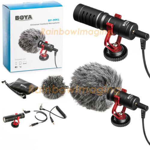 BOYA Universal Cardiod Shotgun Microphone MIC for Sony A7II A7m2 A7S A7R II A7S