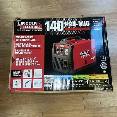 Lincoln Electric 140 Pro Mig Flux Corded Wire Feed Welder K2480-1 New