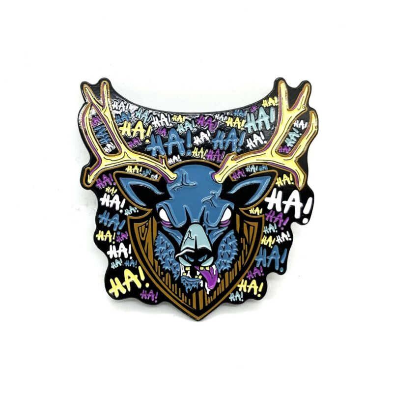 "Zobie Fright Pack - Limited Edition 2"" Enamel Lapel Pin - Evil Dead - Deer Varia"