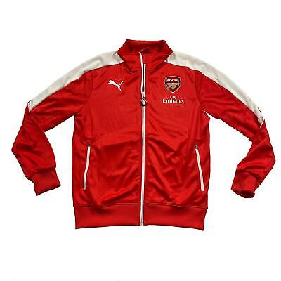 Arsenal Mens Puma Stadium Jacket