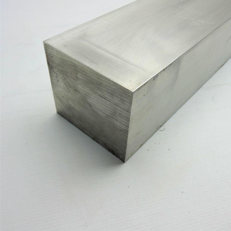 """4"""" x 4.5"""" Aluminum 6061 FLAT BAR 24"""" Long new mill stock sku M101"""