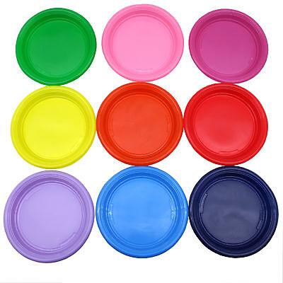 verschiedene Farben Plastik Plaste Kunststoff Einwegteller (Kunststoff-teller)