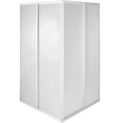 Cabina doccia parete divisorio doccia entrata angolare quadrato box 185cm