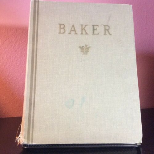 *Bound Vintage Baker Furniture Catalogs and Price Lists