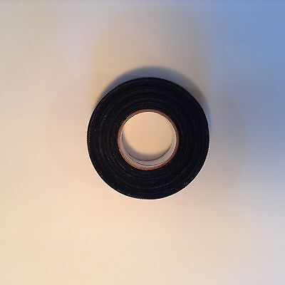 "BLACK HOCKEY TAPE - 1""x20yds. (1 roll)"