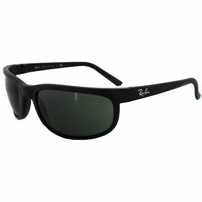 Rayban Sunglasses Predator 2 2027 Black Matt Black Green W1847