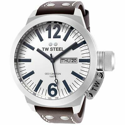 NEW TW Steel Men's CEO Canteen Quartz Watch - CE1006