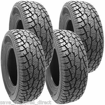 Used, 2357016 HIFLY 235 70 16 AT Tyres x4 106TR M&S 4x4 235/70 ALL TERRAIN 4 for sale  Exeter