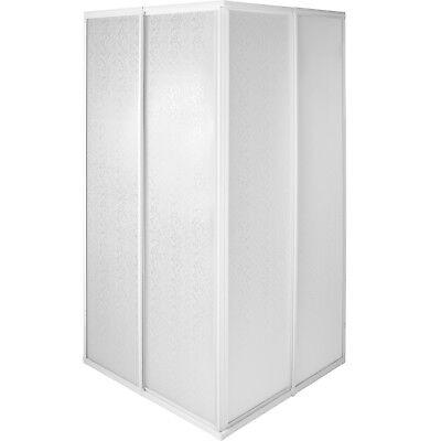 Mampara de ducha Cabina pared separadora de ducha puerta corredera 80x80x185 cm