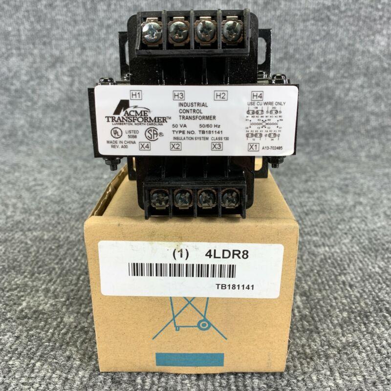 Acme Transformer TB181141 Industrial Control Transformers 50 VA 50/60 Hz