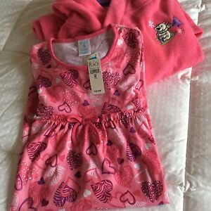 "Children's Place House Coat & Nightgown Set ""BNWT"""