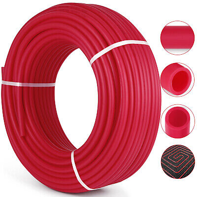 34 - 500 Pex Tubing Non-barrier Coil Red Certified Htgplbgpotable Water