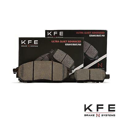 FRONT + REAR New Premium CERAMIC Disc BRAKE Pad Set With Shims KFE888 KFE905