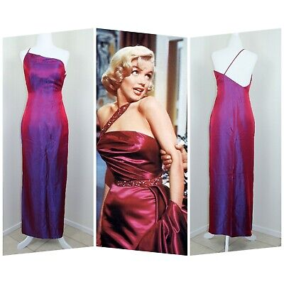 Petit Film Halloween (Vtg Circa 1997 Kathlin Argiro Atelier Iridescent Blue/Purple Marilyn)