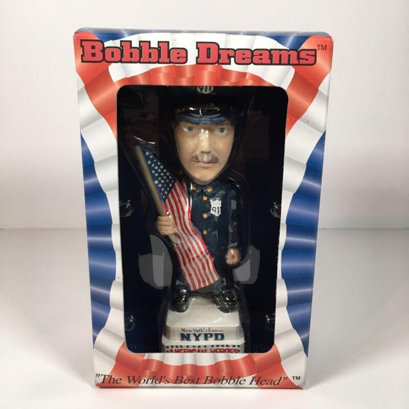 NYPD 911 Bobble Dreams Bobblehead New in Box USA Patriotism Collectible