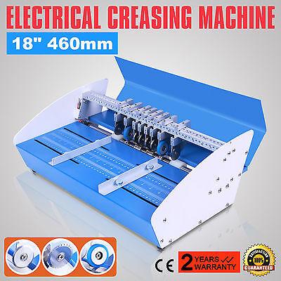 """18"""" Elektrische Nutmaschine Rillmaschine 110/220V Multifunction Perforiergerät"""