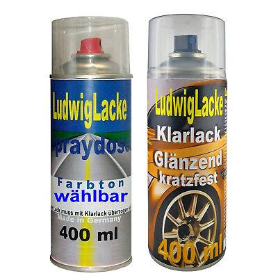 lver Met. LA7W Autolack Klarlack je 400ml für VW FreiHaus (Mets Farben)