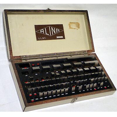Alina 68 Piece Gauge Block Set 0.1003 - 4.0 High Precision High Quality
