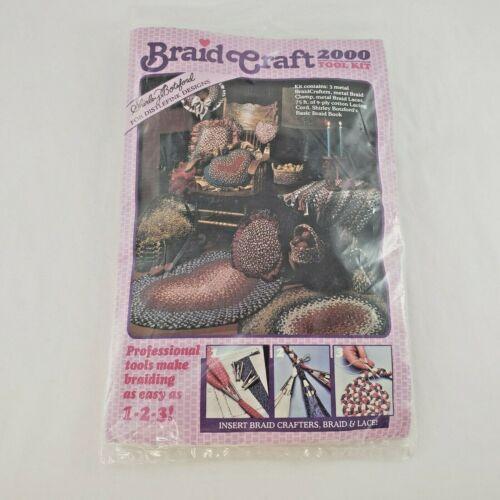 Shirley Botsford Braid Rug Craft Kit 1998 Deluxe Tool Set #81001 New Unused