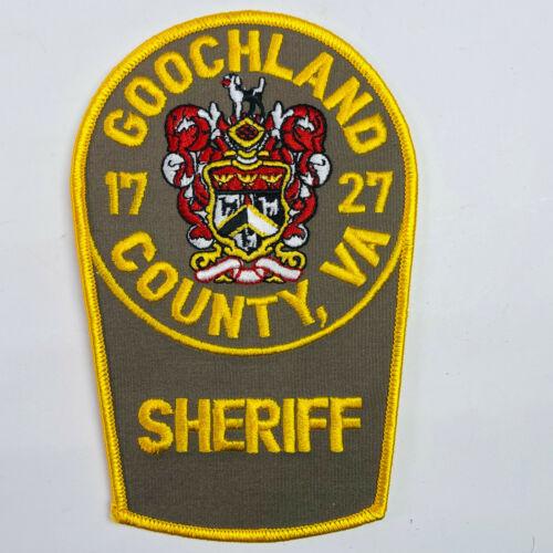 Goochland County Sheriff Virginia VA Patch (B6-A)