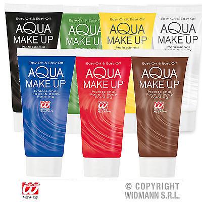 Aqua Make up Schminke Kinderschminke wasserlöslich Tube 30ml 7 Farben schminken