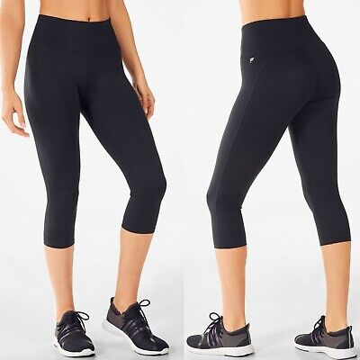 Fabletics Women's XXS High Waisted Ultracool Crops High Rise Cropped Leggings