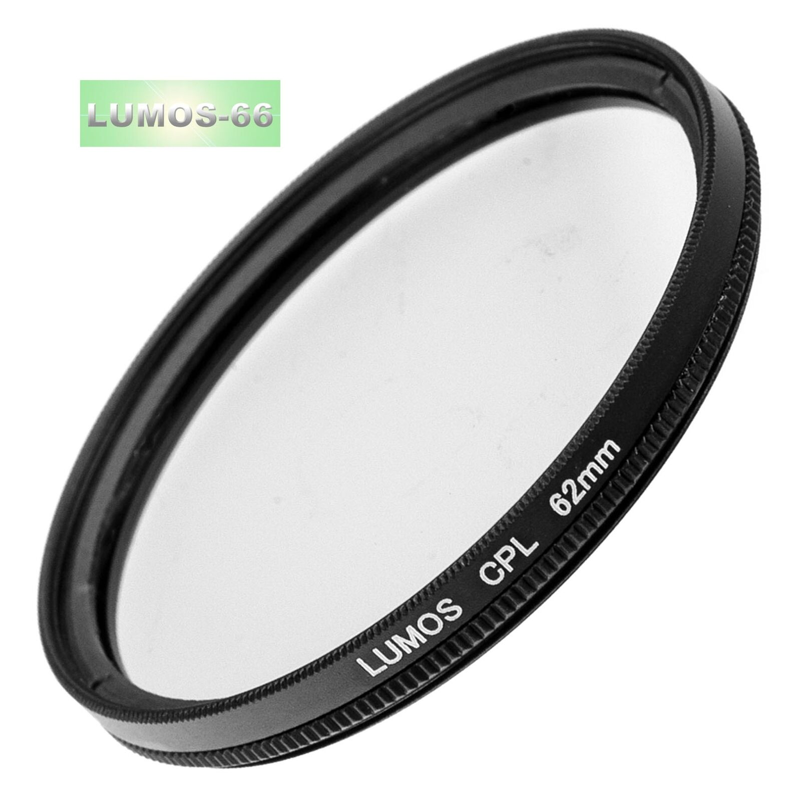 Polfilter Ø 62mm LUMOS cpl Pol Filter Kamera Objektiv Polarisationsfilter 62 mm