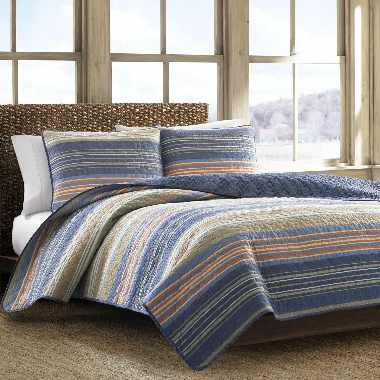 Eddie Bauer 206700 Cotton Quilt Set, Yakima Valley, Full/