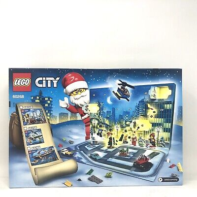 LEGO City: Advent Calendar (60268) 342 Pcs. with 24 Gifts NEW Sealed for Ages 5+