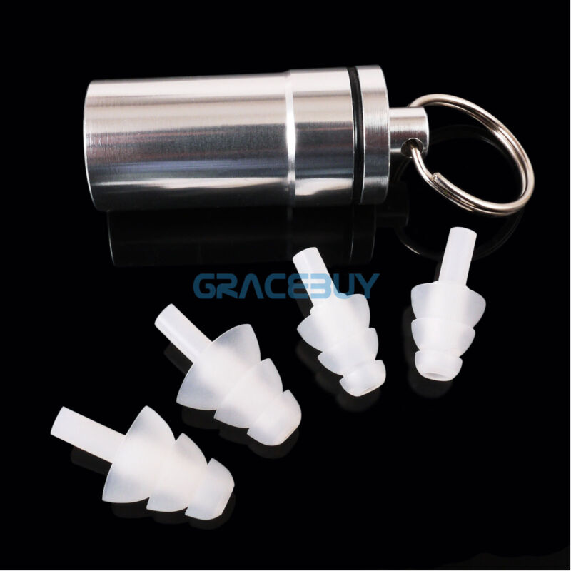 Hearing Protection Ear Plugs Concerts Noise Reducing Musicians HearSafe Earplugs
