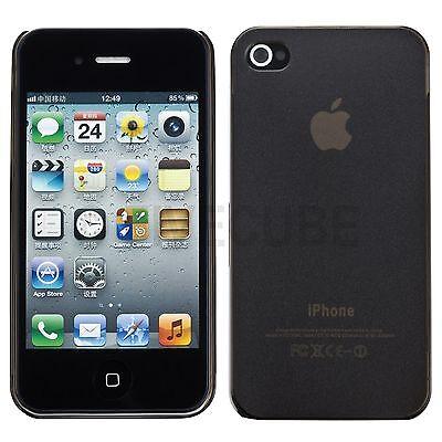 SLIM IPHONE 4 4G 4S HARD CASE SCHUTZ H LLE COVER BUMPER TASCHE SLIM CASE GRAU