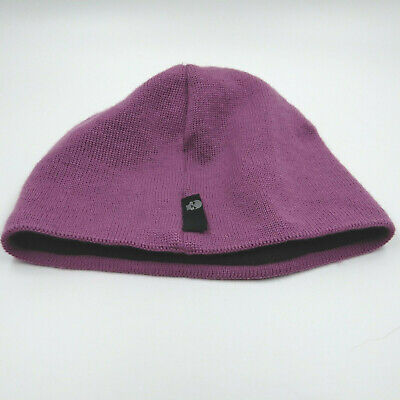Bula womens hat beanie wool raspberry pink one size made Canada