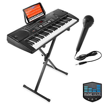 61-Key Digital Music Piano Keyboard - Portable Electronic Mu