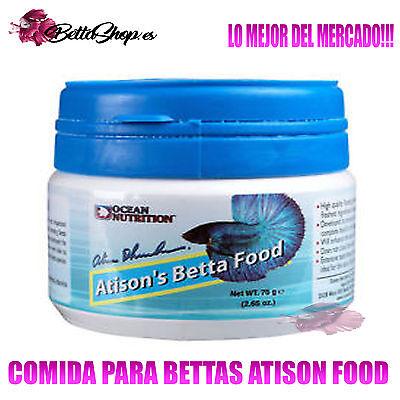 COMIDAS PARA PECES COMIDAS PARA BETTAS ATISON FOOD COMIDA BETTA PECES PEZ...