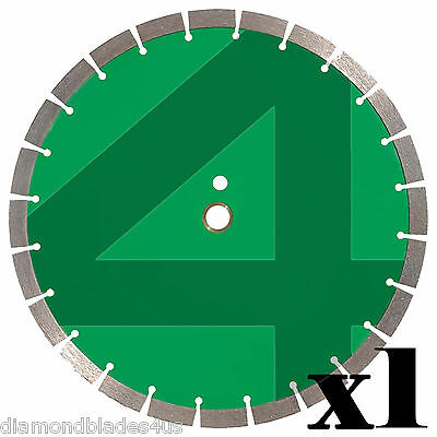 14 Diamond Saw Blade 4 Concrete Brick Block Stone Rock Masonry 15mm
