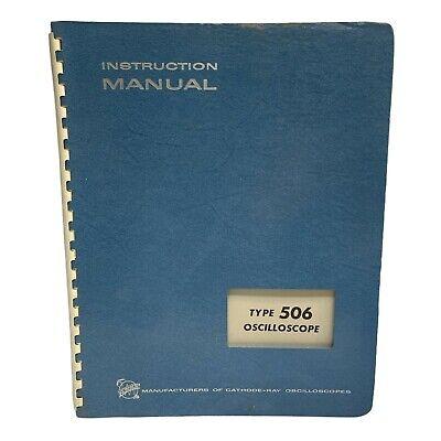 Tektronix Type 506 Oscilloscope Instruction Manual