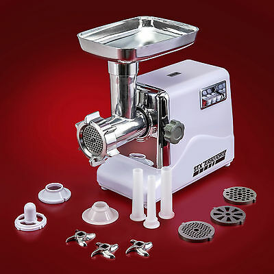 Electric Meat Grinder - STX International 3 Speed Turboforce 3000 with Stuffer