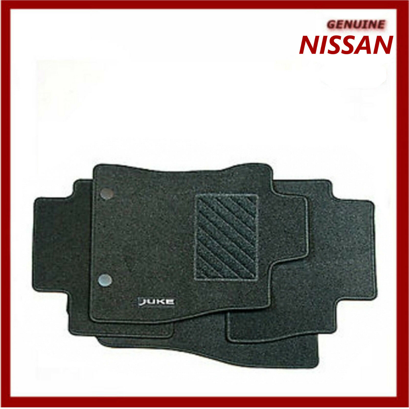 Car Parts - Genuine Nissan Juke 2011- Tailored Textile Carpet Car Mats KE7551K021