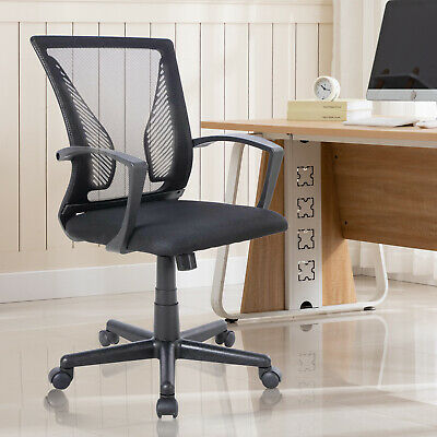 Executive Gaming Home Office Mesh Chair Adjustable Computer Desk Swivel Chair Us