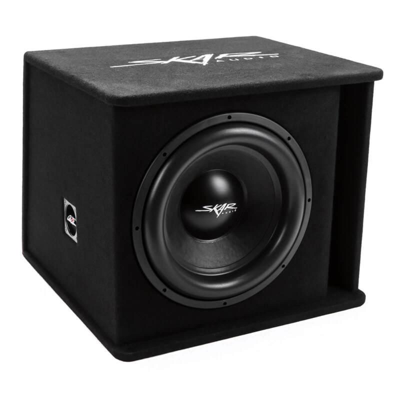"NEW SKAR AUDIO SDR-1X15D2 1200 WATT SINGLE 15"" LOADED VENTED SUBWOOFER ENCLOSURE"