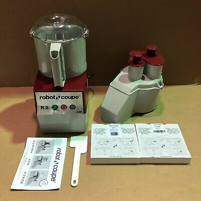 Robot Coupe R2n Combination Continuous Feed Food Processor With 3 Qt. Bowl