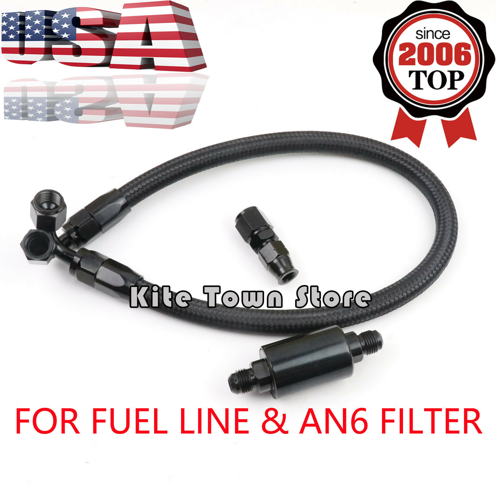 Fuel Line An6 Filter For Honda Civic Integra B/d Series