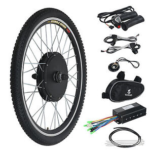 48v Front Wheel Electric Bicycle Motor Conversion Kit 1000w E Bike Cycling Hub