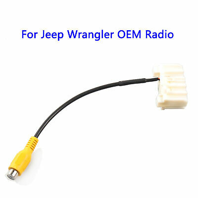 For 2007-2017 Jeep Wrangler JK OEM Radios Backup Camera Input Harness - Harness Jeep Wrangler